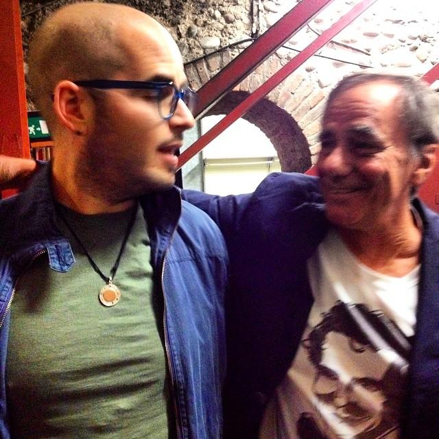 Simoni e Roberto Vecchioni