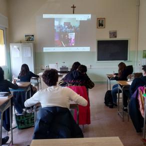 Paolo Simoni ospite al Liceo Brandolini-Rota di Oderzo (TV)