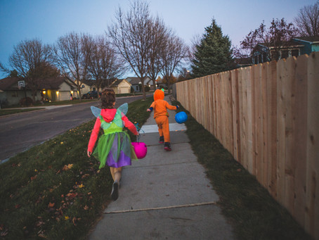 """See and Be Seen"" for a Fun and Safe Halloween!"