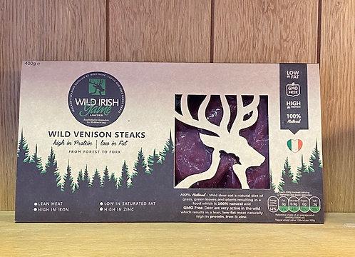 Wild Venison Steaks