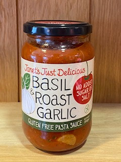 Basil & Roast Garlic Sauce