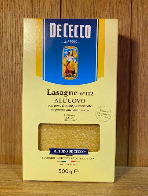 De Cecco Lasagne Sheets