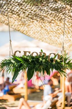 Tropical prewedding party Kea