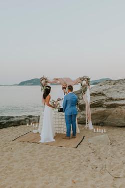 Kavala Beach Wedding