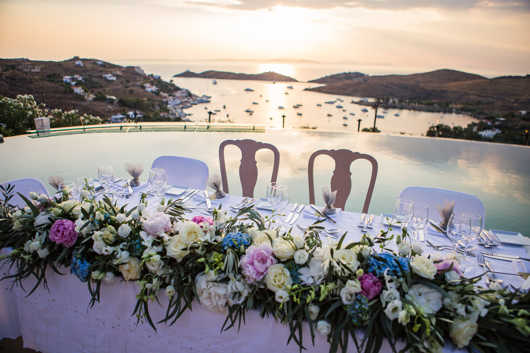 Kea island wedding