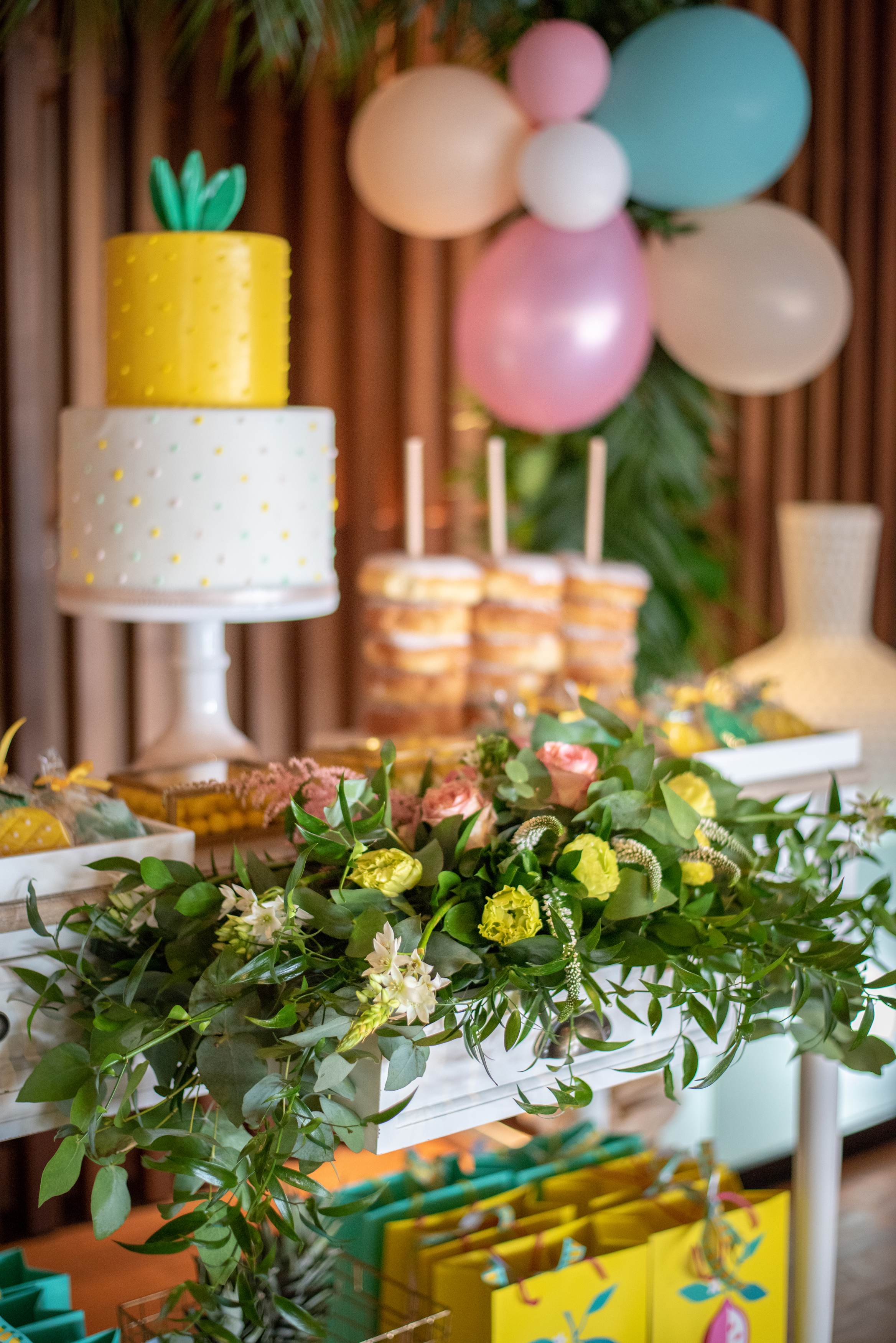 inspired Tropical birthday party