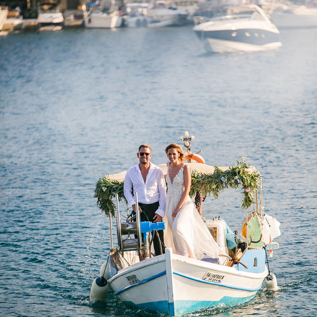 Kea island wedding