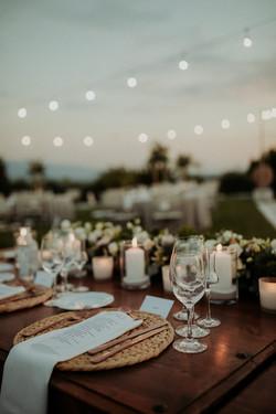 Organic Vineyard Wedding