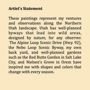 Atrist's Statement