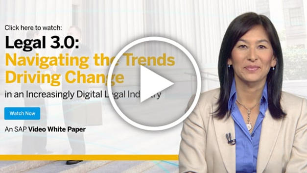 Video White Paper: Legal 3.0 Navigating the Trends Driving Change