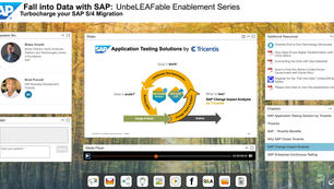Fall Into Data Webinar Series for SAP