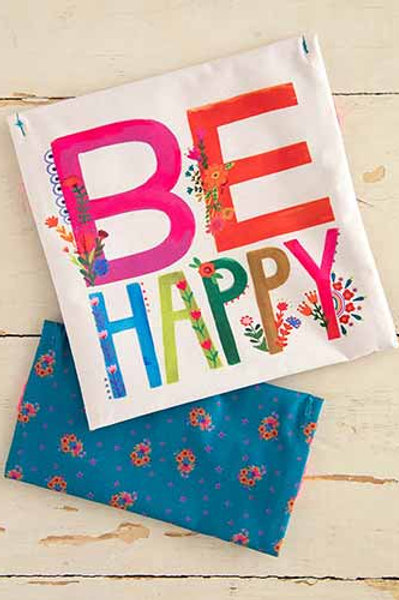 Be Happy Reusable Lunch Bag Set