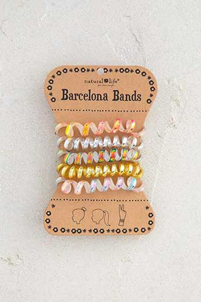 Iridescent Gold Barcelona Bands