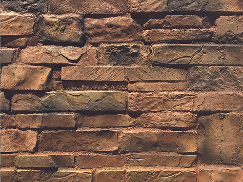 Brown Strip Stone Effect Wall Cladding Decor Panel
