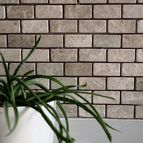 Tumbled Emperador Marble Mosaic Tile
