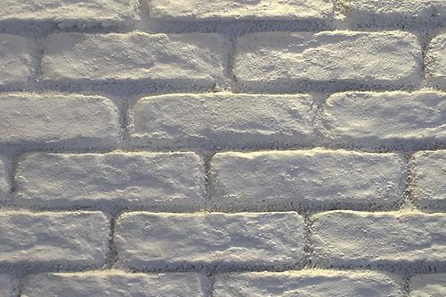 White Brick Effect Wall Decor Panel