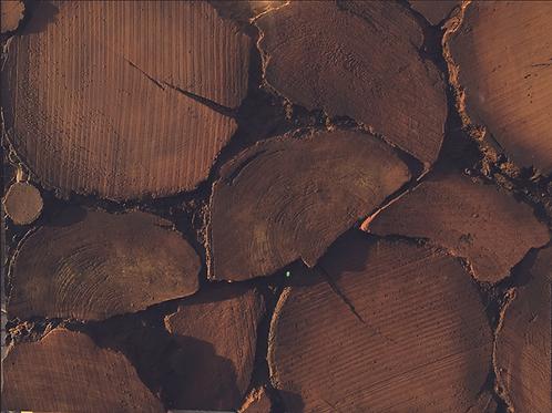 logs wall