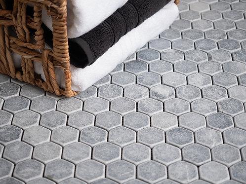Belgium Stone Tumbled Hexagon Tiles