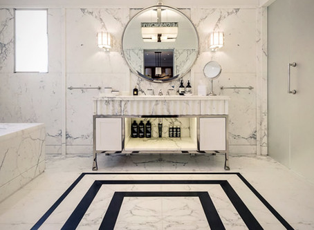 Unique Luxury Marble Bathrooms