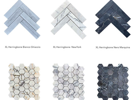 New Marble Mosaic Tiles