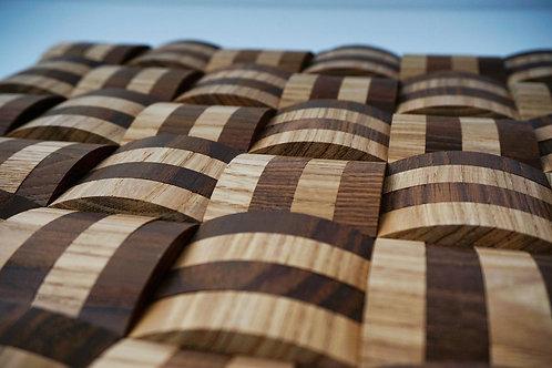 XL Basket Mix Wooden Mosaic Tiles