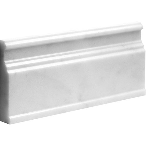 Carrara Polished Marble Moulding Skirting