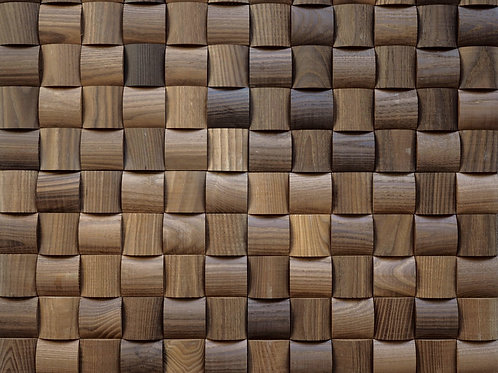wime wood mosaic tile