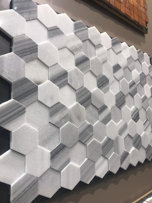 3d hexagon tiler