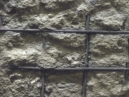 Concrete wall decor