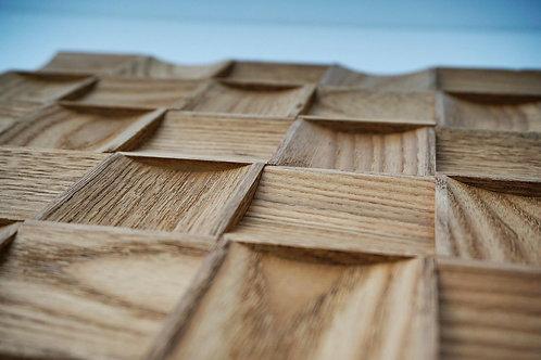 Square Wooden Mosaic Tiles