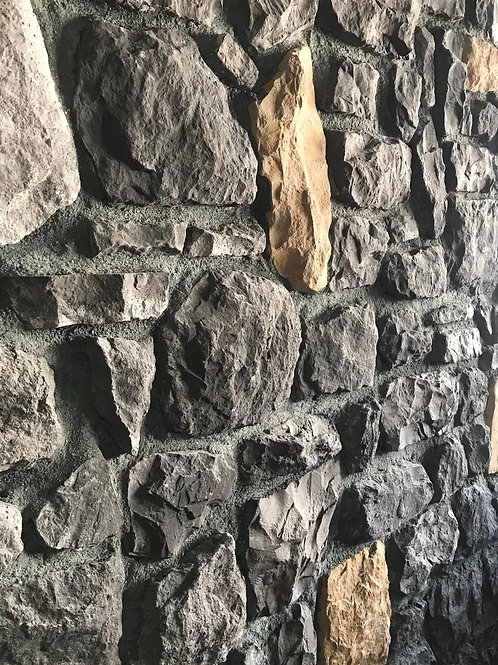 Dark Wall Stone Cladding