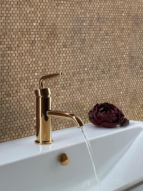 brown marble mosaic