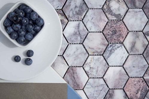 Calacatta hexagon mosaic