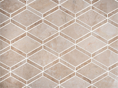 Rhomb Beige Crema Marfil Tiles