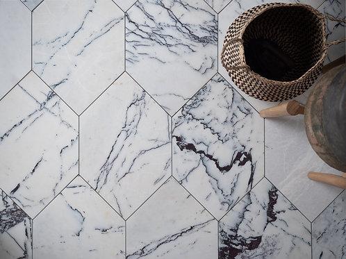 Calacatta Viola Marble Octagon Tiles
