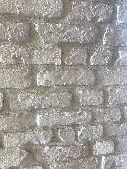 white wall brick
