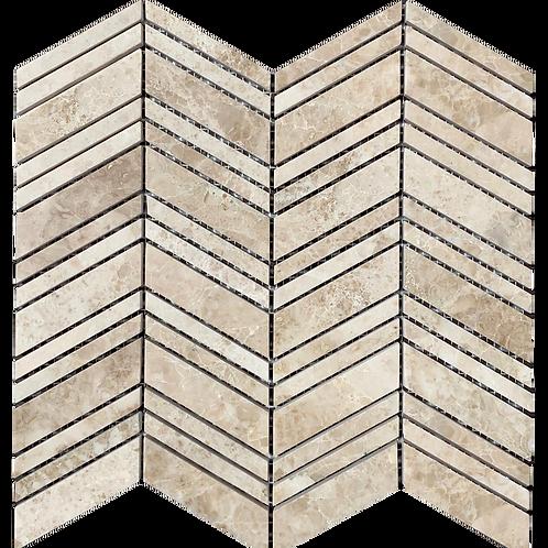 Midi Chevron Mosaic Tiles