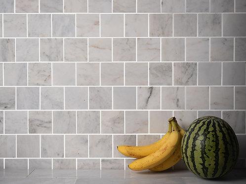 calacatta mosaic tiles