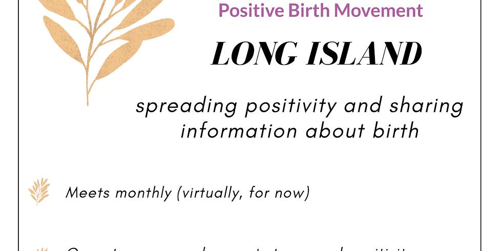 Positive Birth Movement Virtual Meet Up