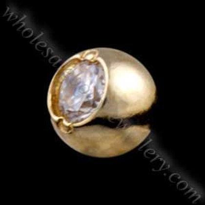 9ct Gold Jewel Dimp Balls (9B17-Clip)