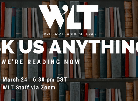 WLT Event: What We're Reading Now