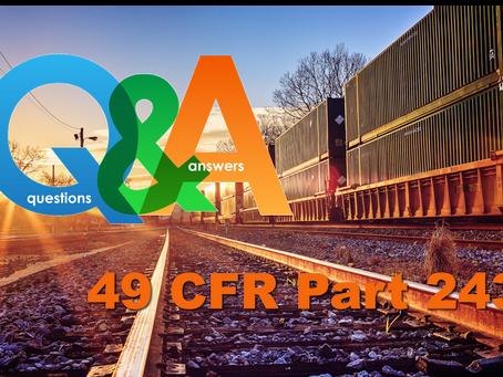 Webinar: 243 Question & Answer