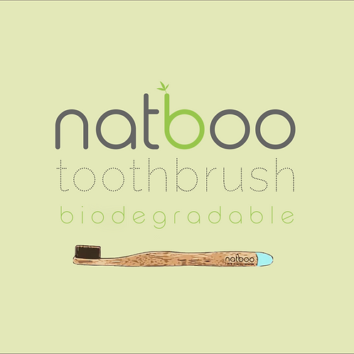 12 Natboo Toothbrushes. 3 of each color.