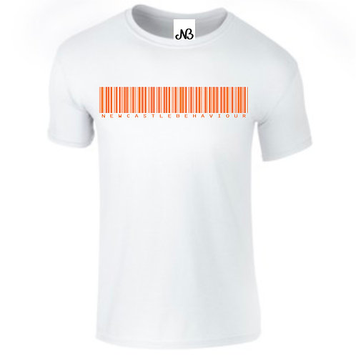 Orange Barcode T-Shirt