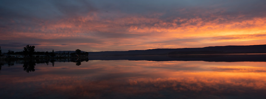 Lake Illawarra reflections
