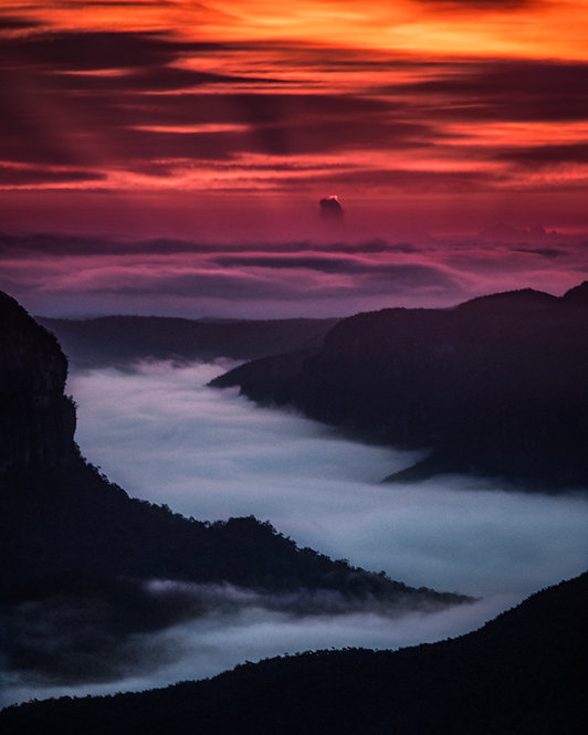 Fire and Fog