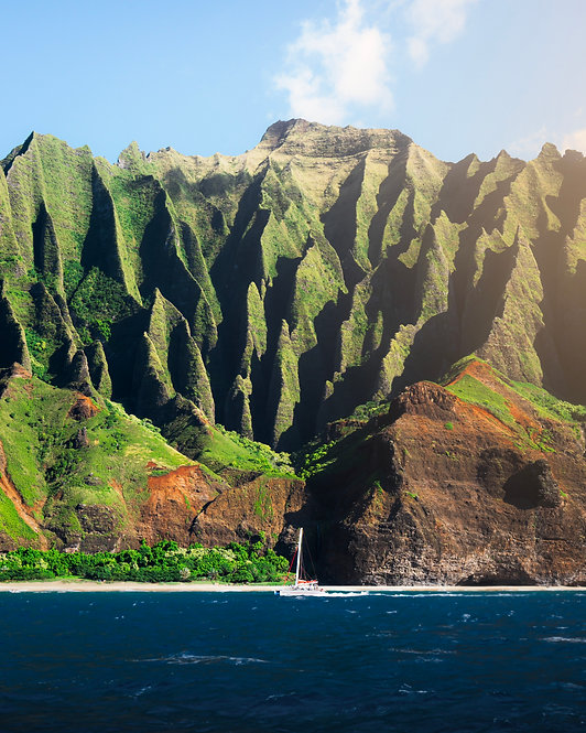 THE Na Pali Coast, Kauai