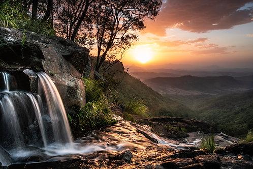 Clifftop Waterfall