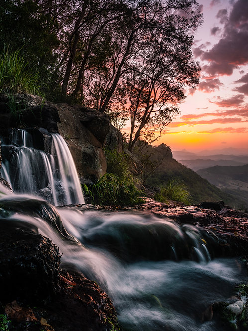 Sunsets and Waterfalls