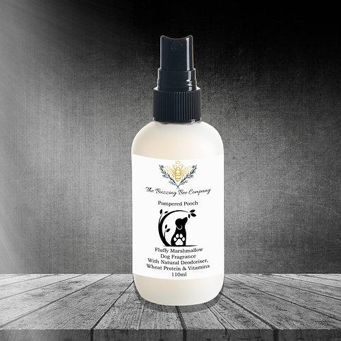 Fluffy Marshmallow Dog Fragrance With Natural Deodoriser. 110ml.